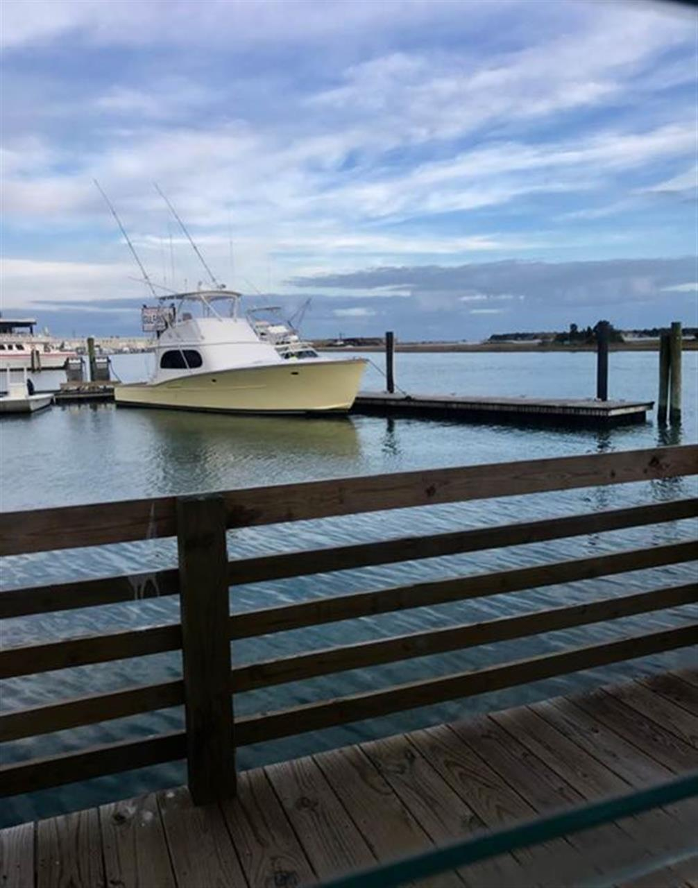 Dinner on the waterfront, Morehead City, NC
