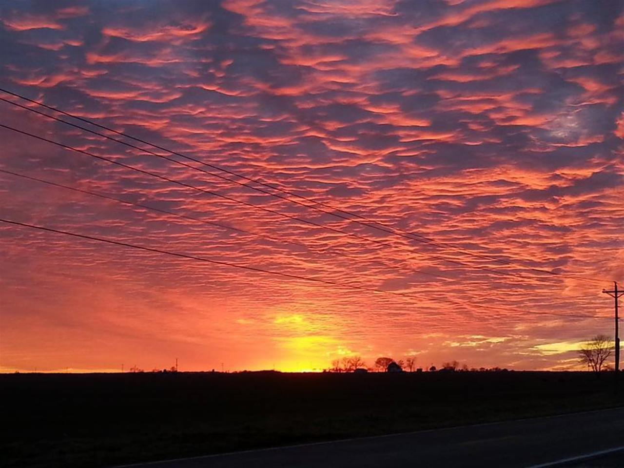 Sky over Metro East Illinois