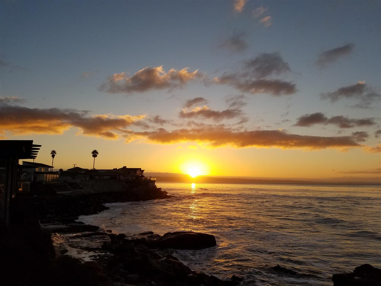 Pleasure Point Sunrise, Santa Cruz CA