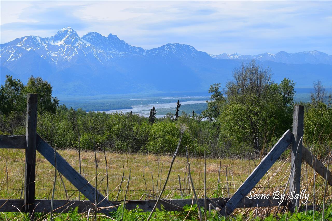 Views of Matanuska Susitna Valley, Palmer, Alaska