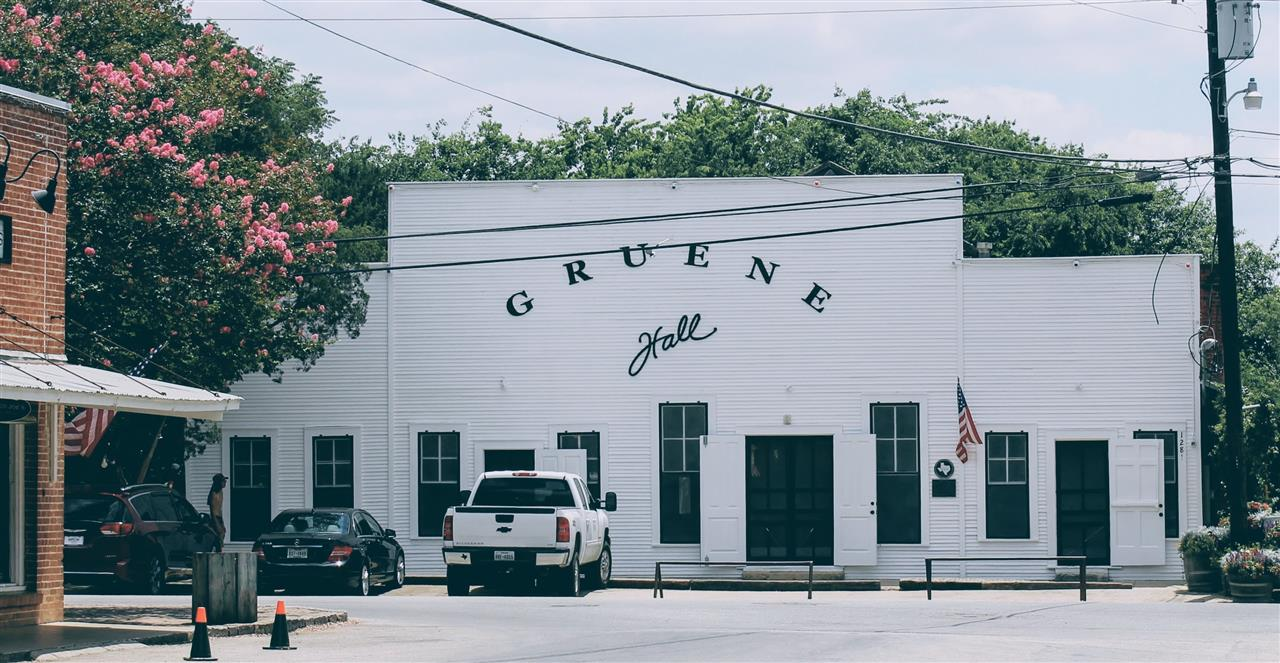 Gruene Hall- Oldest continually run dance hall in Texas