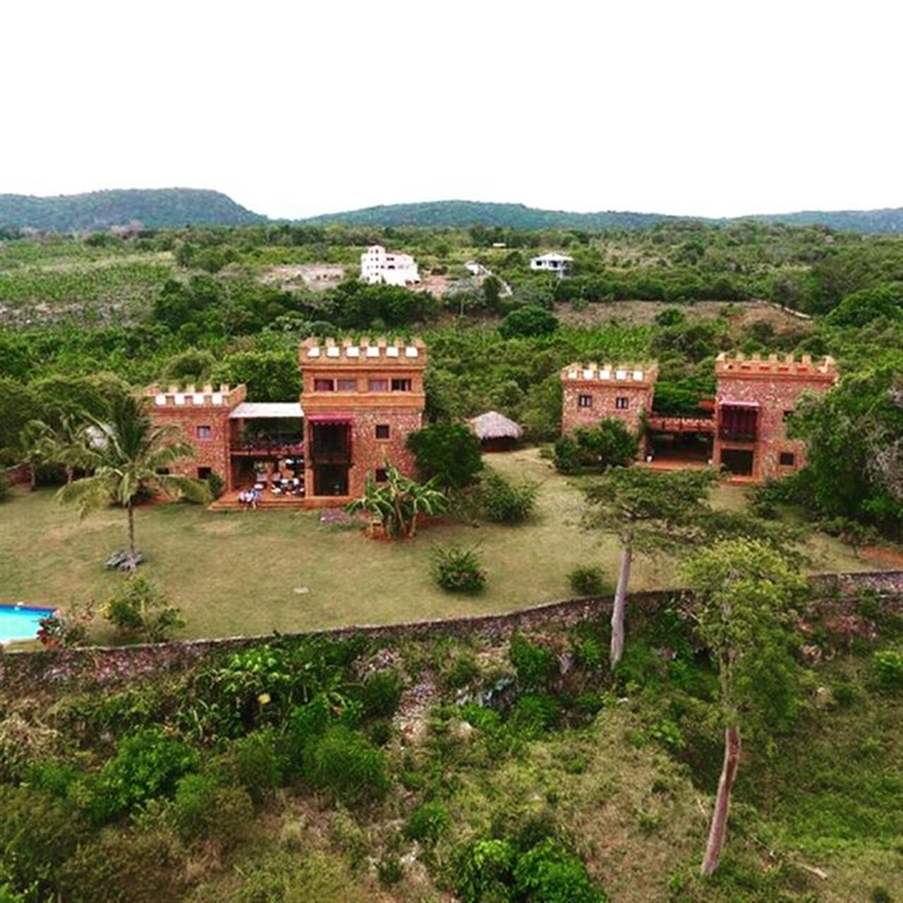 These Twin Houses in Samana - Las Galeras is Select Caribbean Properties newest listing. With views to the Las Galeras Bay and situated on 1 acre makes this property a perfect vacation destination.  #luxuryhome #dominicanrepublicnorthcoast #dominicanrepublicvilla #leadingrelocal #Samana #LasGaleras #Castle #luxuryvillas #luxuryrealestate