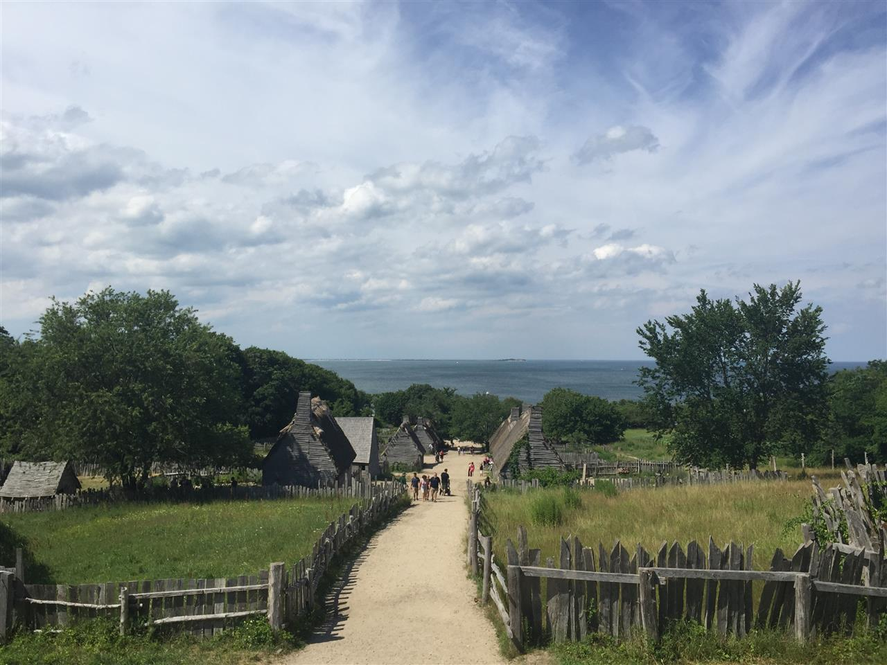 Plimoth Plantation- View of the Past. Plymouth, MA