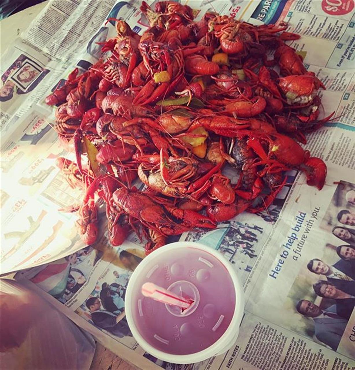 Check out the blog for our new favorite way to find crawfish in NOLA: the Crawfish App! (link in bio)