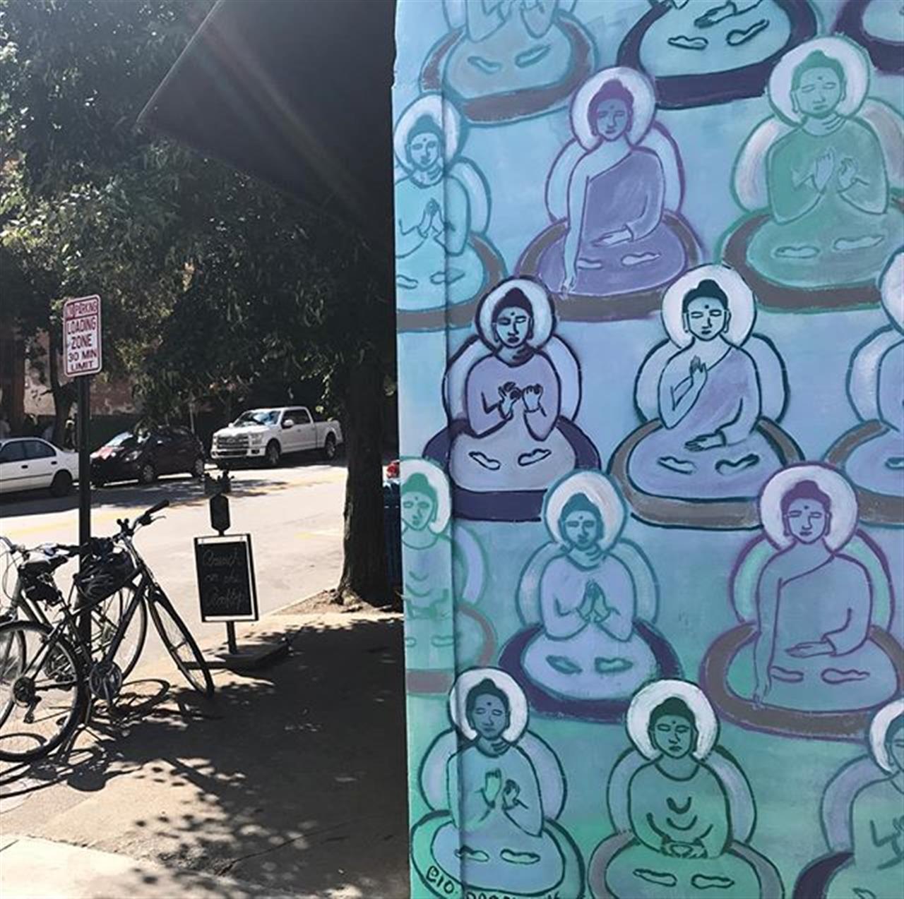 #asheville #muralsofasheville #ashevilleyogafestival #bh #leadingrelocal #namaste