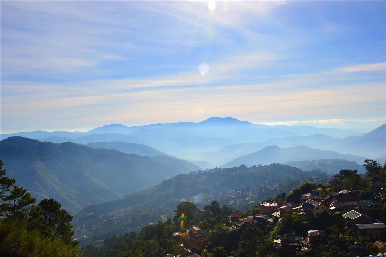 Cool climate morning view at the Mines View Park, Baguio City, Benguet, Philippines Photo by Bryan Barredo