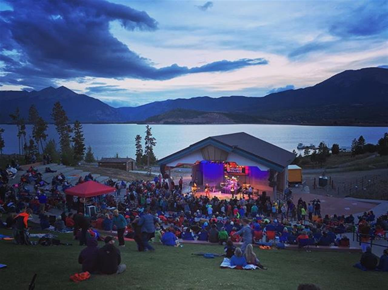 Another stunning weekend in Summit County!! What a venue we have, so lucky!!! #6MDB #Dillon #Colorado #amphitheatre #livemusic #livelocal #lakedillon
