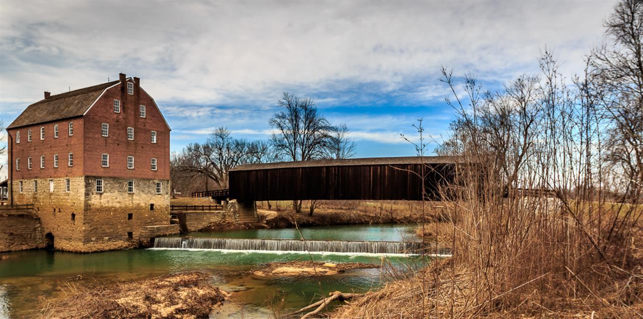 Bollinger County Mill in Cape Girardeau County, Missouri