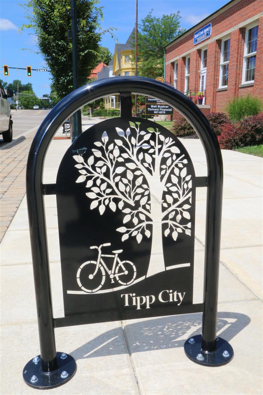 #TippCityOhio #LeadingRELocal #BikeRack