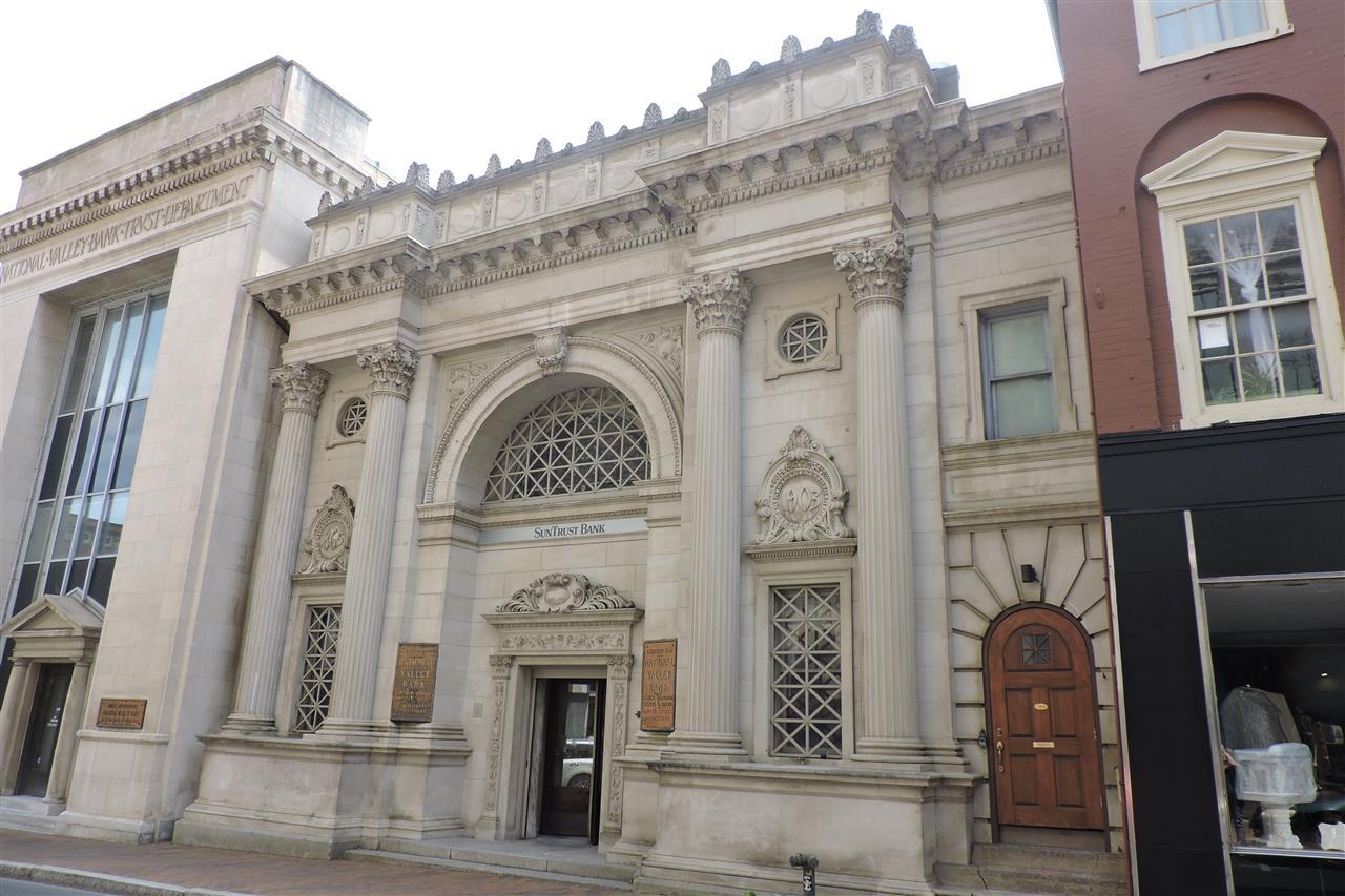 Historic Bank Building, Downtown Staunton, VA