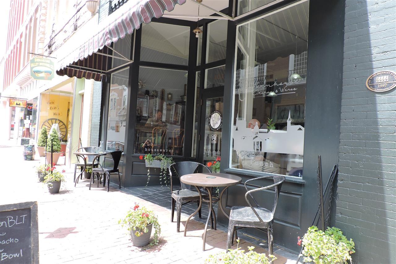 Storefront, Downtown Staunton, VA