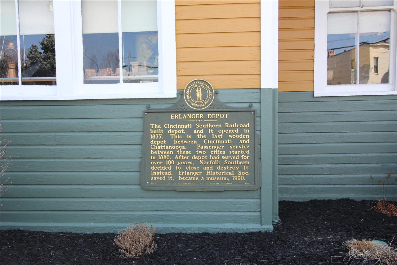 #leadingrelocal #ErlangerKentucky #traindepot #historicalmarker #CincinnatiSouthernRailroad