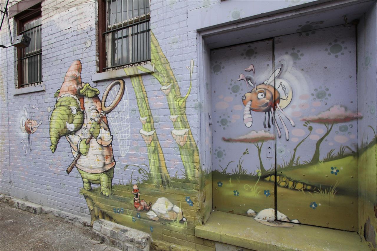 #leadingrelocal #Northside #CincinnatiOhio #mural