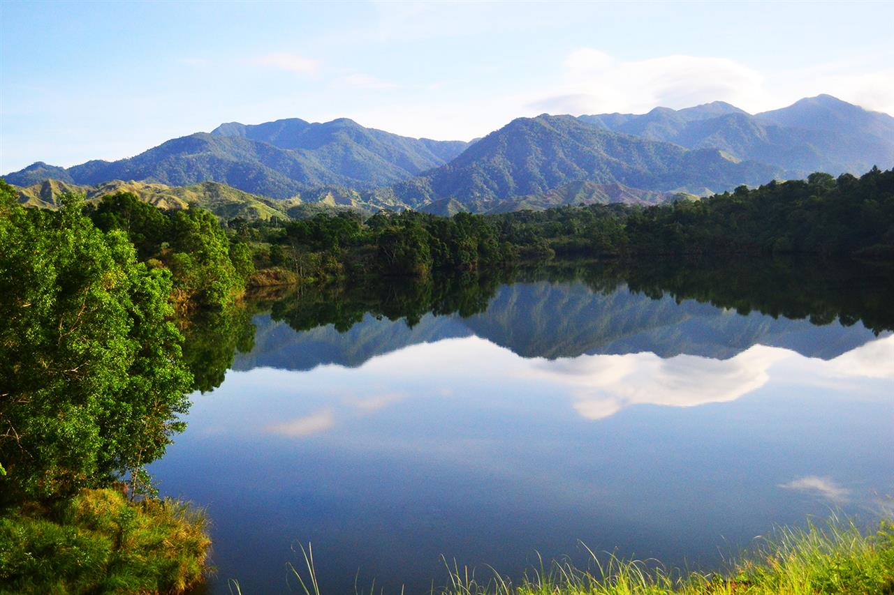A quite morning in Baler, Aurora, Philippines