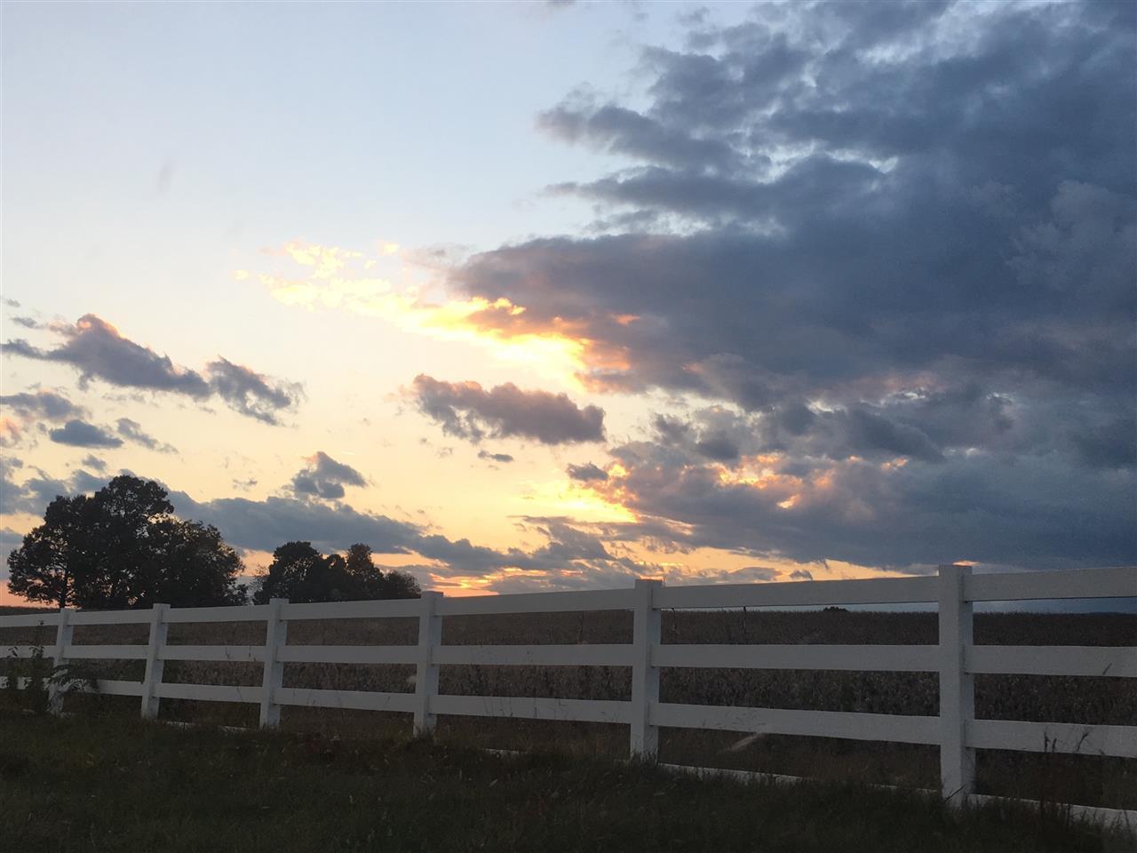 Sunset on Blose Road, Elkton, VA