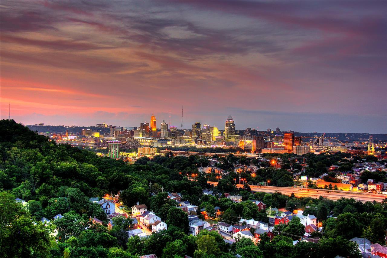 #leadingRElocal #Cincinnati #Ohio #viewfromNorthernKentucky #downtownview