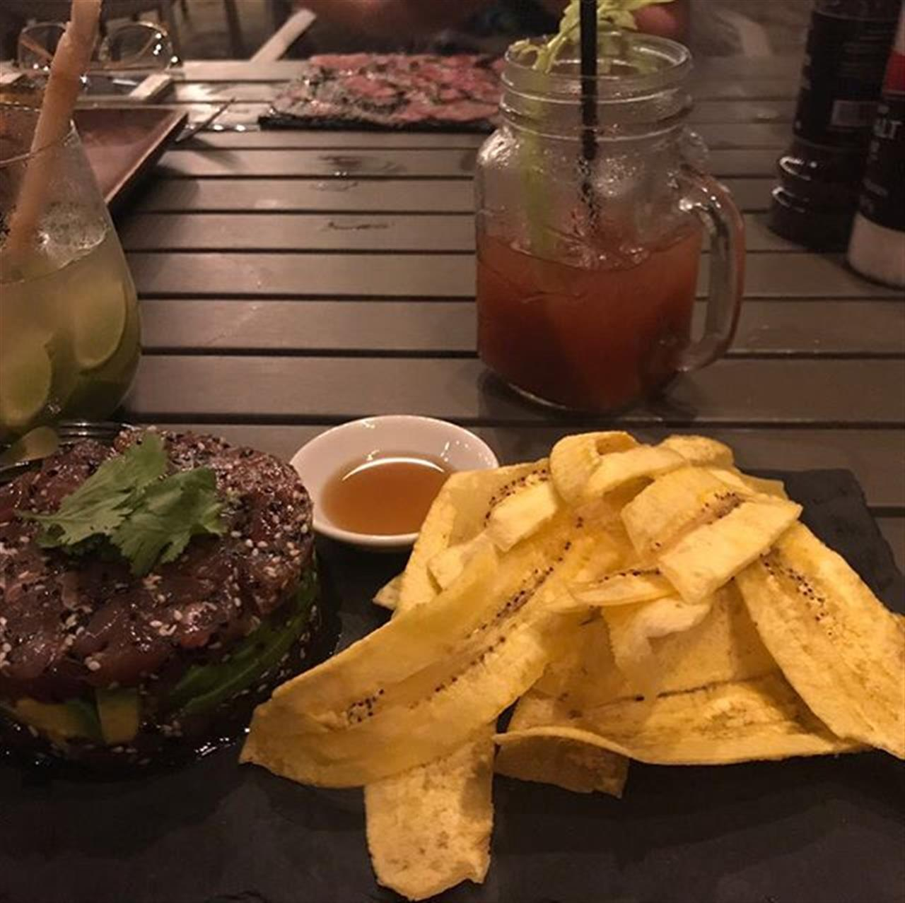 Yummy Diner at the Sea Horse Ranch Beach Club! #caribbeanfood #selectcaribbean #leadingrelocal #atheletes #celebraties #goodlife www.selectcaribbean.com