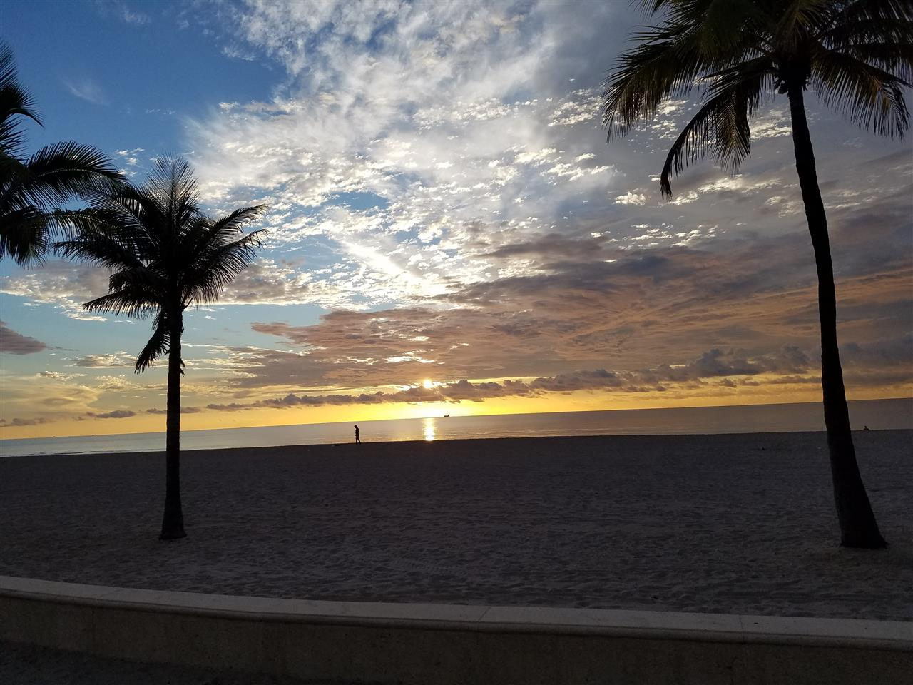 This is what it is like to live in Broward County by the Beach!