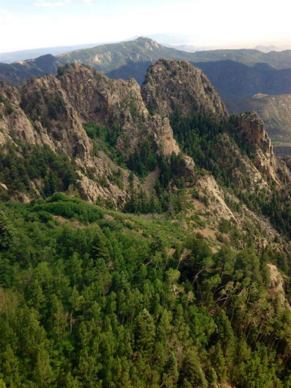 Tramway View of Sandia Mountains - Albuquerque, NM