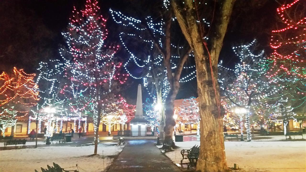Christmas Lights - Downtown Santa Fe, NM