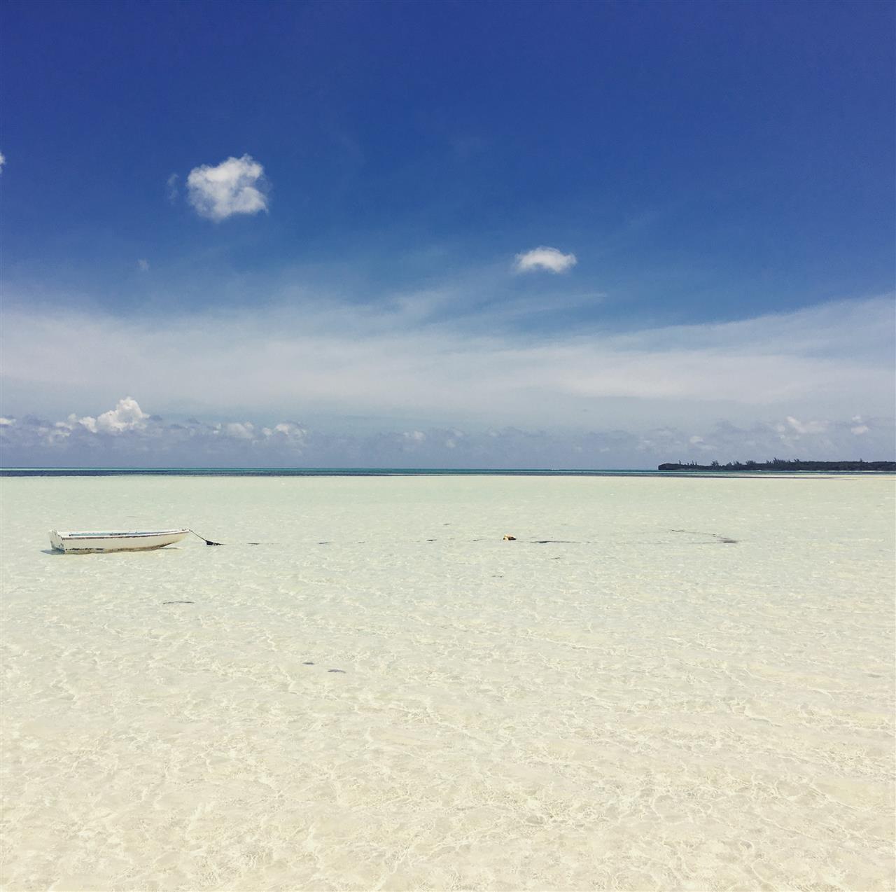 Island of Eleuthera in the Bahamas