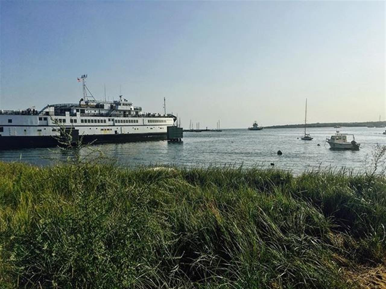 #GreetingsFromMV: The ferry prepares to depart after another great weekend on the Vineyard!