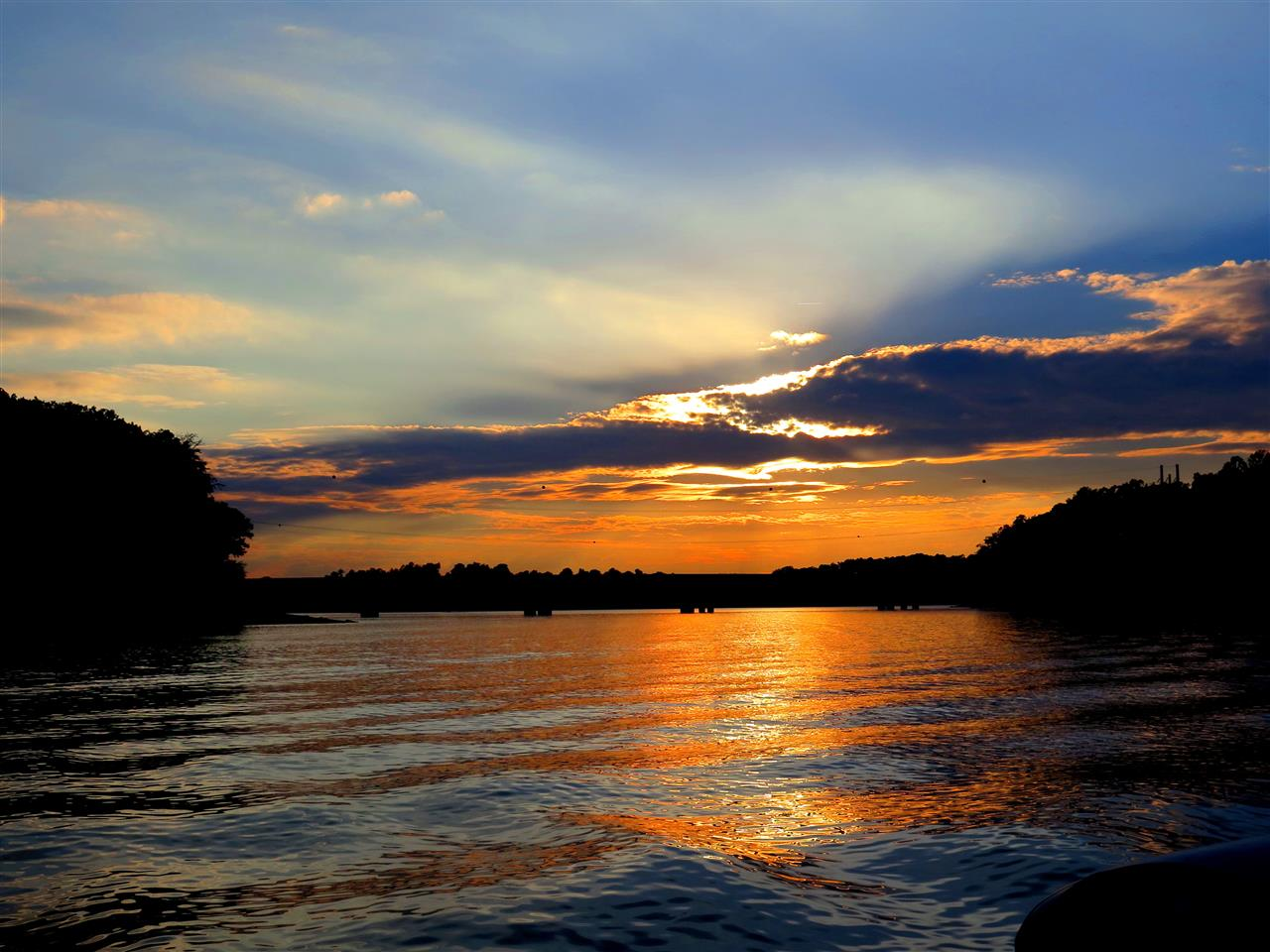 Lake Lanier Sunset, Gainesville, GA