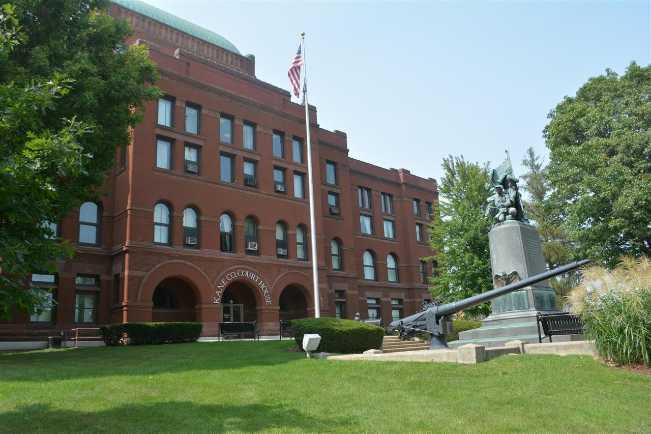Kane County Courthouse in Geneva, IL