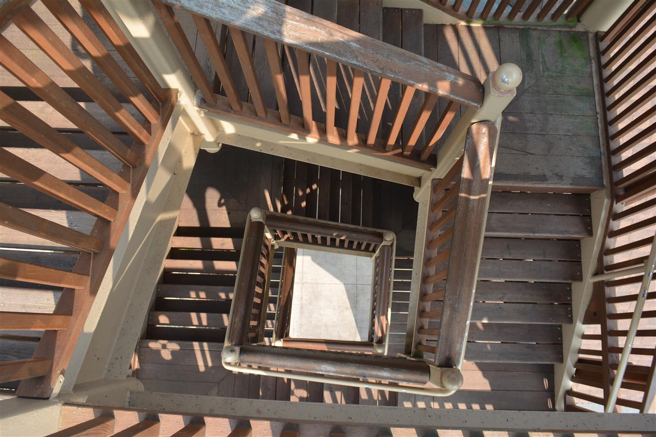 Winding Staircase at Pottowatomie Park in St. Charles, IL