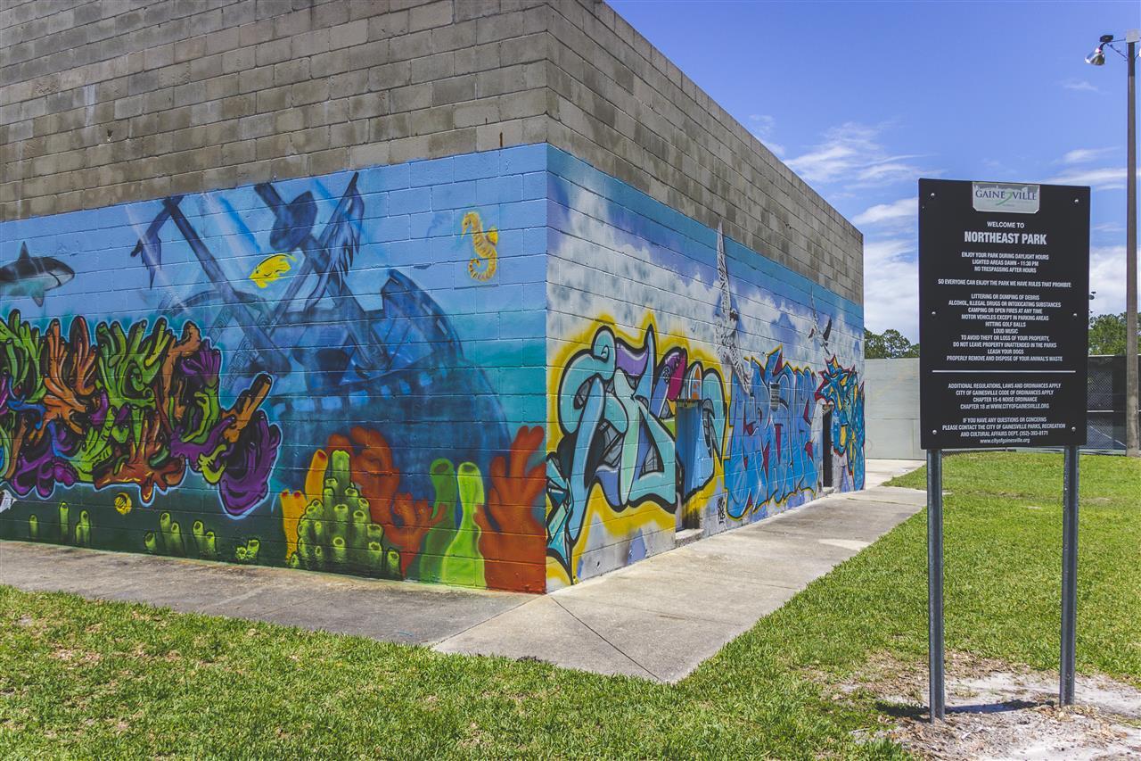 NE Park 400 NE 16th Avenue Gainesville, FL 32601 #GainesvilleFL