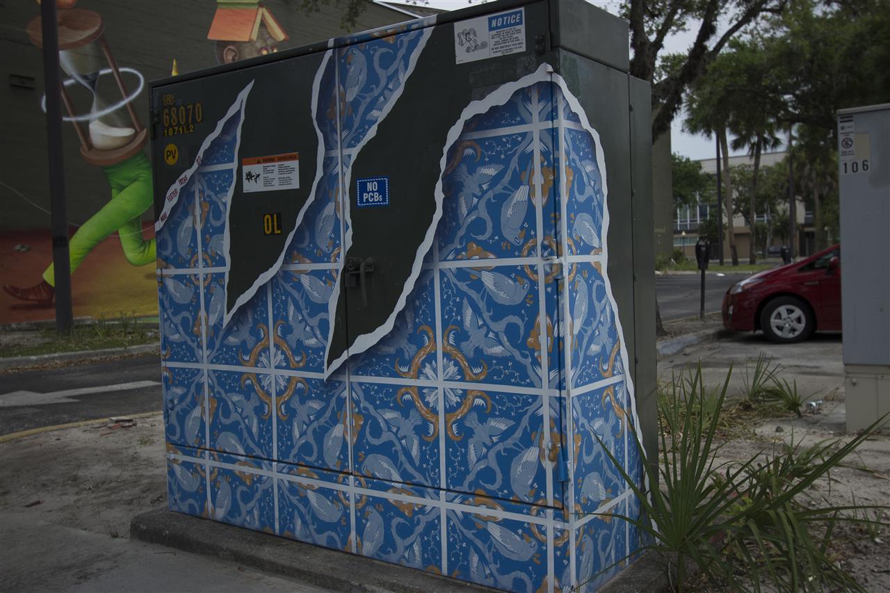 Art in Public Places on public equipment