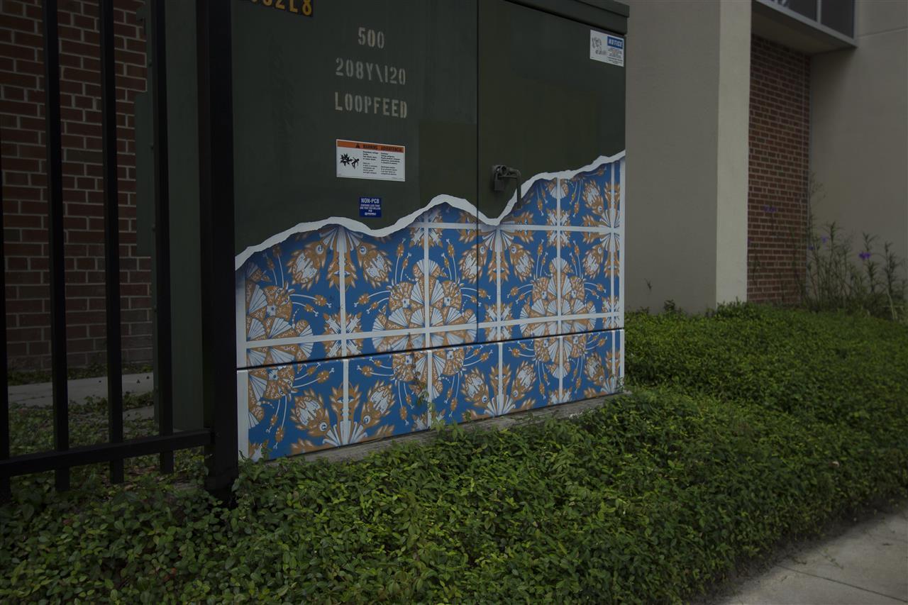 Art in public places on public equipment #GainesvilleFL
