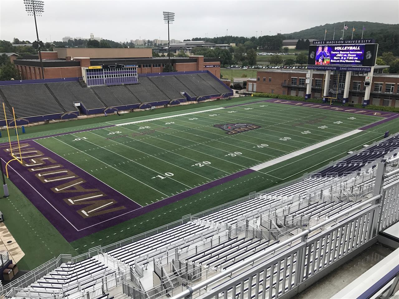 Bridgeforth Stadium, James Madison University, Harrisonburg, VA
