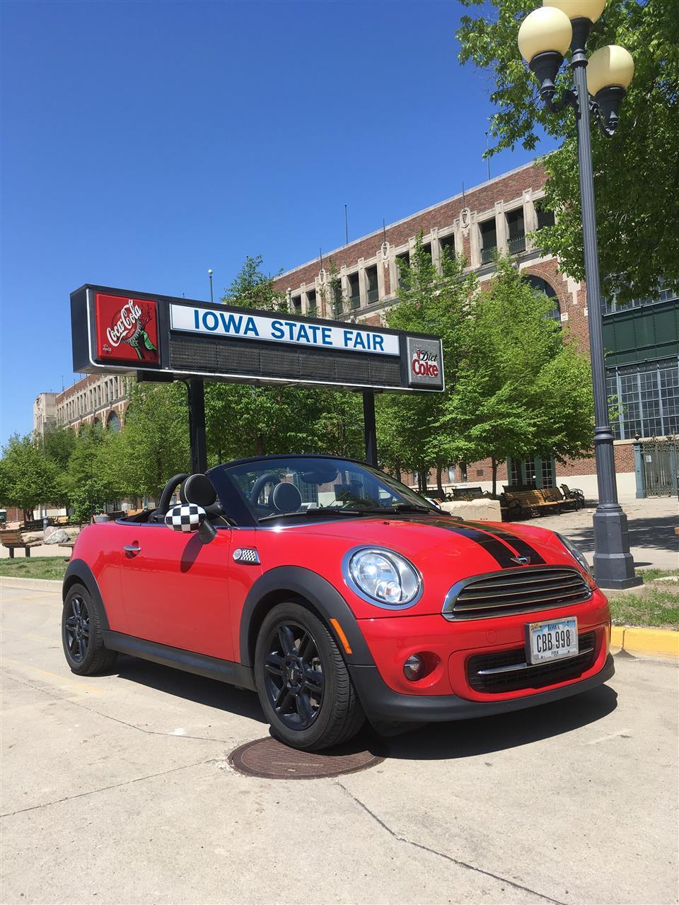Iowa State Fair.  #Des Moines