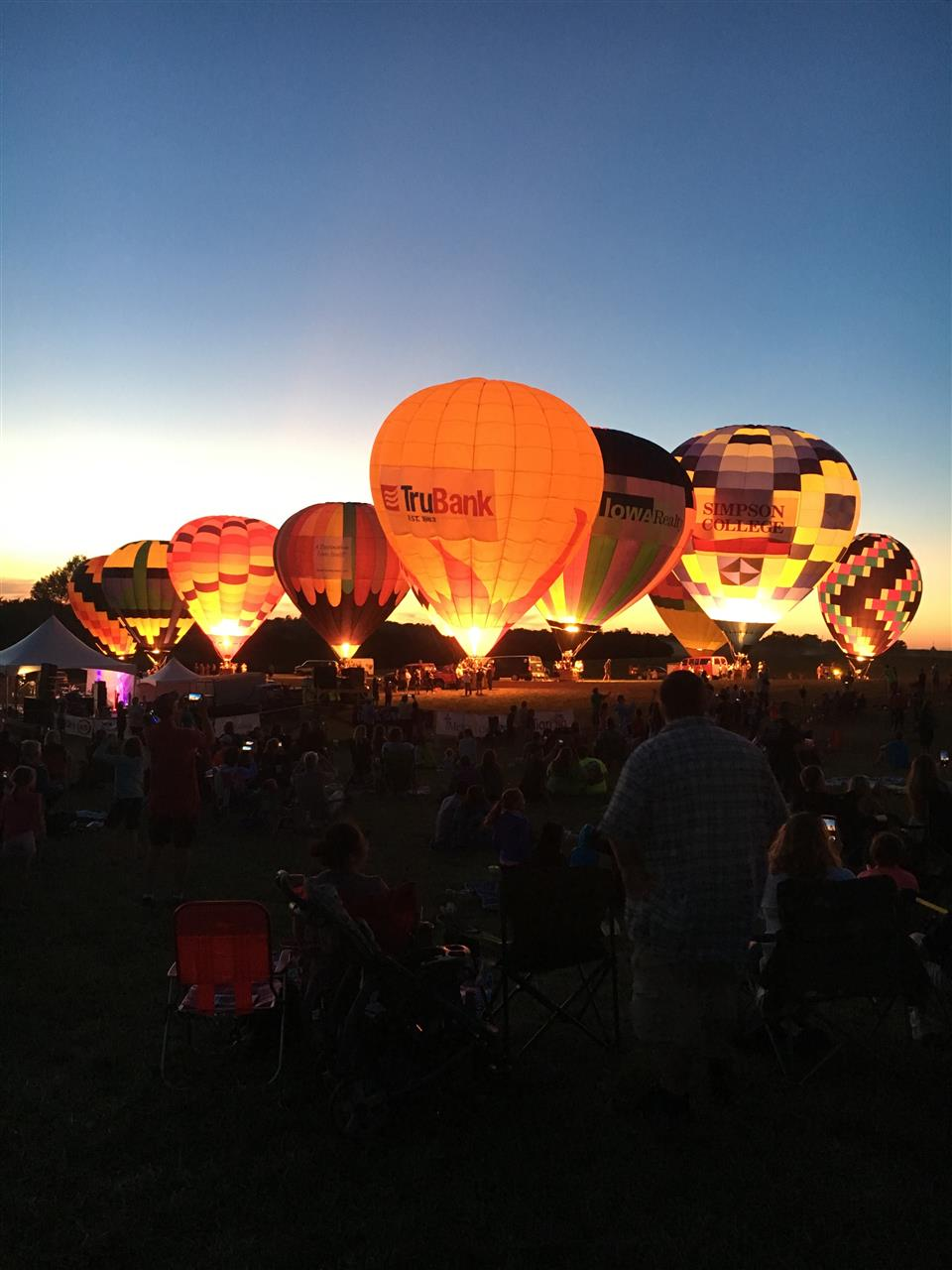 National Balloon Classic.  #Indianola #DesMoines