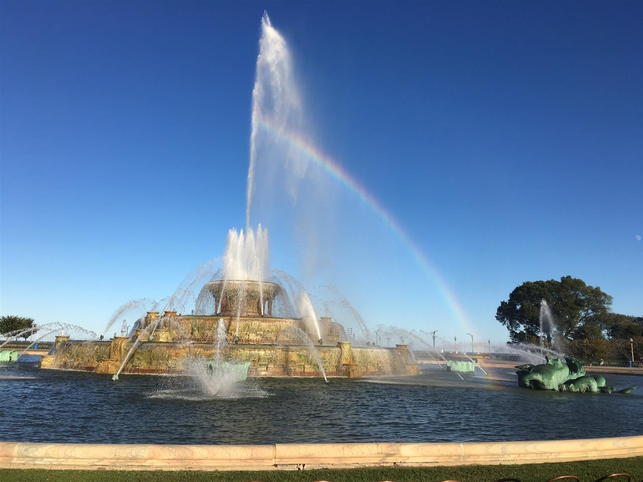 Buckingham Fountain, Chicago, IL