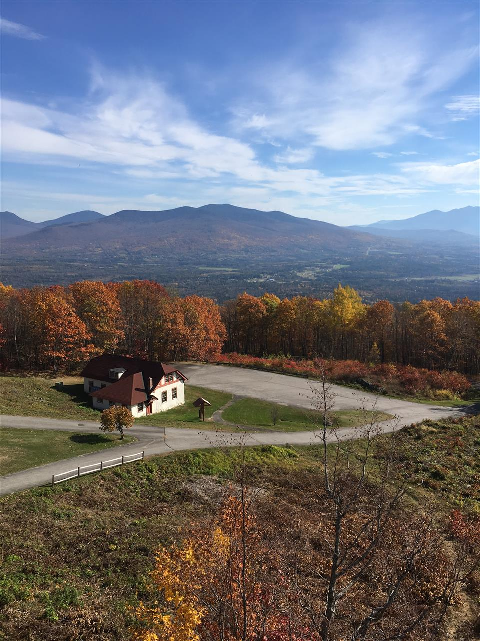 Views of the White Mountains from Weeks State Park, Mount Prospect, Lancaster, New Hampshire.