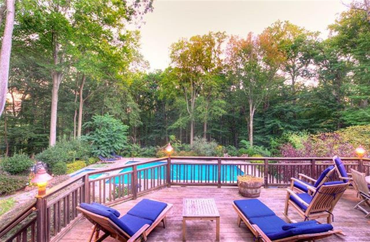 What a stunning backyard! . 19 Harbourton Ridge Dr Hopewell Twp, NJ  http://bit.ly/2yWm6td