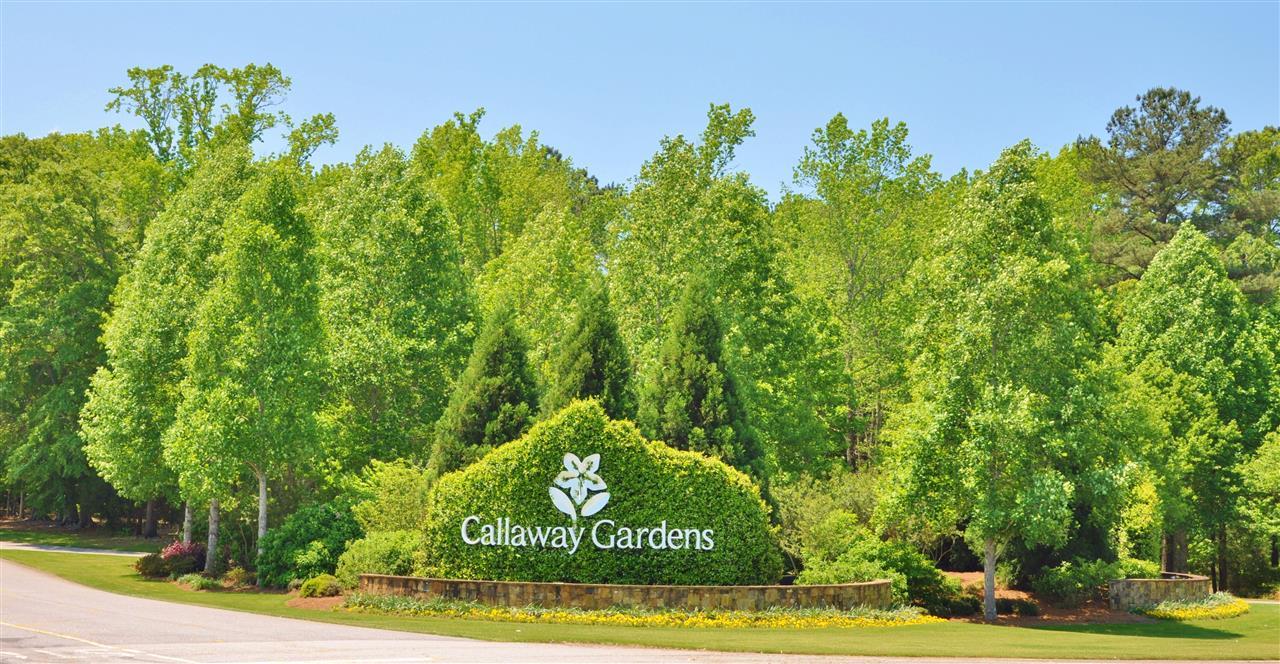 Callaway Gardens entrance. Pine Mountain, GA