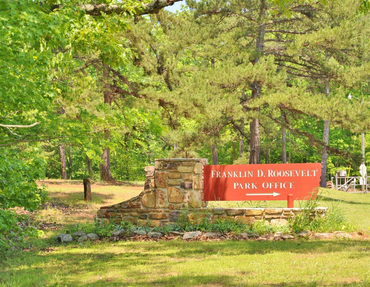 FDR Park Entrance.