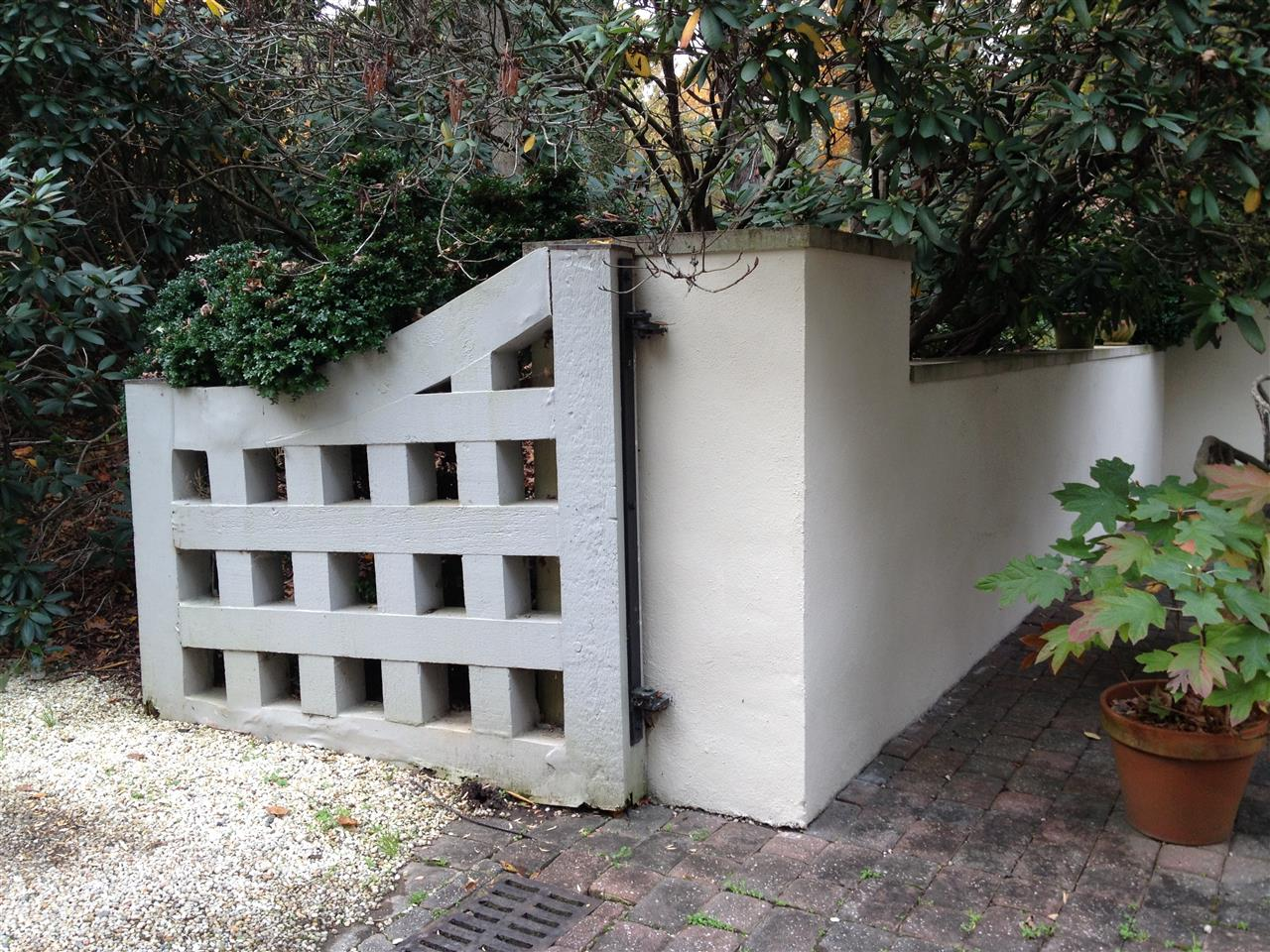 Lovely gate #wsnc #leadingrelocal #leonardrydenburrrealestate