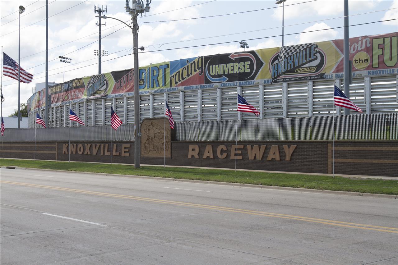 #Knoxville Raceway.  #DesMoines