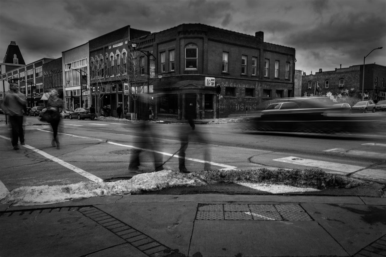 East Village, Downtown #DesMoines.  Photo by Josh Quick