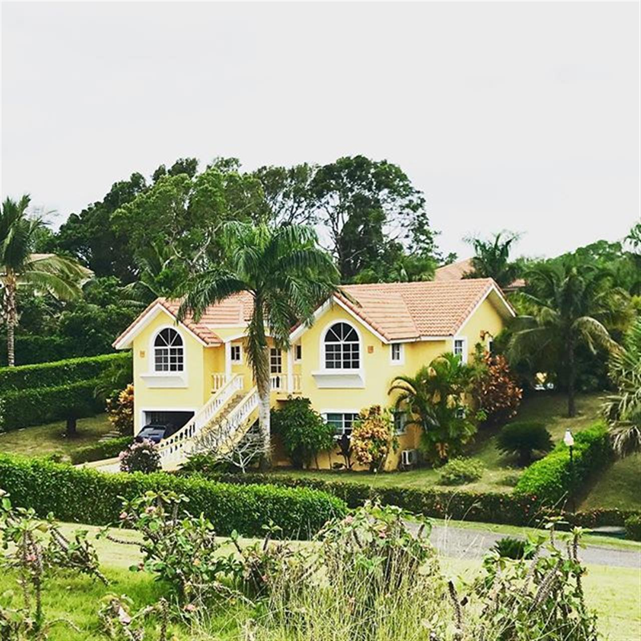 Tropical Island-style Home ? Contact us ??for more info #tropical #caribbean #island #islandstyle #caribbeanhome #dominicanbloggers #leadingrelocal #leadingre #dominicanrepublicvilla #dominicanstyle