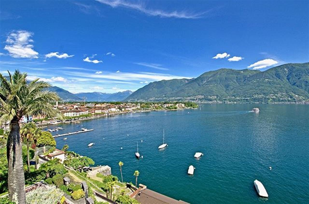 "Beautiful view to the lake shore ""Lungolago"" from #Ascona. This magnificient duplex penthouse in Ascona Piazza in Switzerland at #lakemaggiore for sale. Often described as ""Ticino's most sought after location"": at the bottom of a hill, directly connected to the lakeside promenade, 100 m walking to the well-known ôPiazzaö in Ascona, in a historic villa there is this ravishing 300 m▓ Duplex-Penthouse, in a very quiet and sunny location, with a scenic view south-eas orientatedt: a dream for the ones who are really looking for ôthe best of bestö. For more: search with ref. 7196 at our website or browse for bit.ly/7196-en  #apartmentforsale #lakemaggiore #ticino #switzerland #luxuryrealestate #luxurylifestyle #christiesinternationalrealestate #luxuryportfolio #wetagconsulting #leadingre #ChristiesHomes #photooftheday #followme #likeforlike #LeadingRElocal"