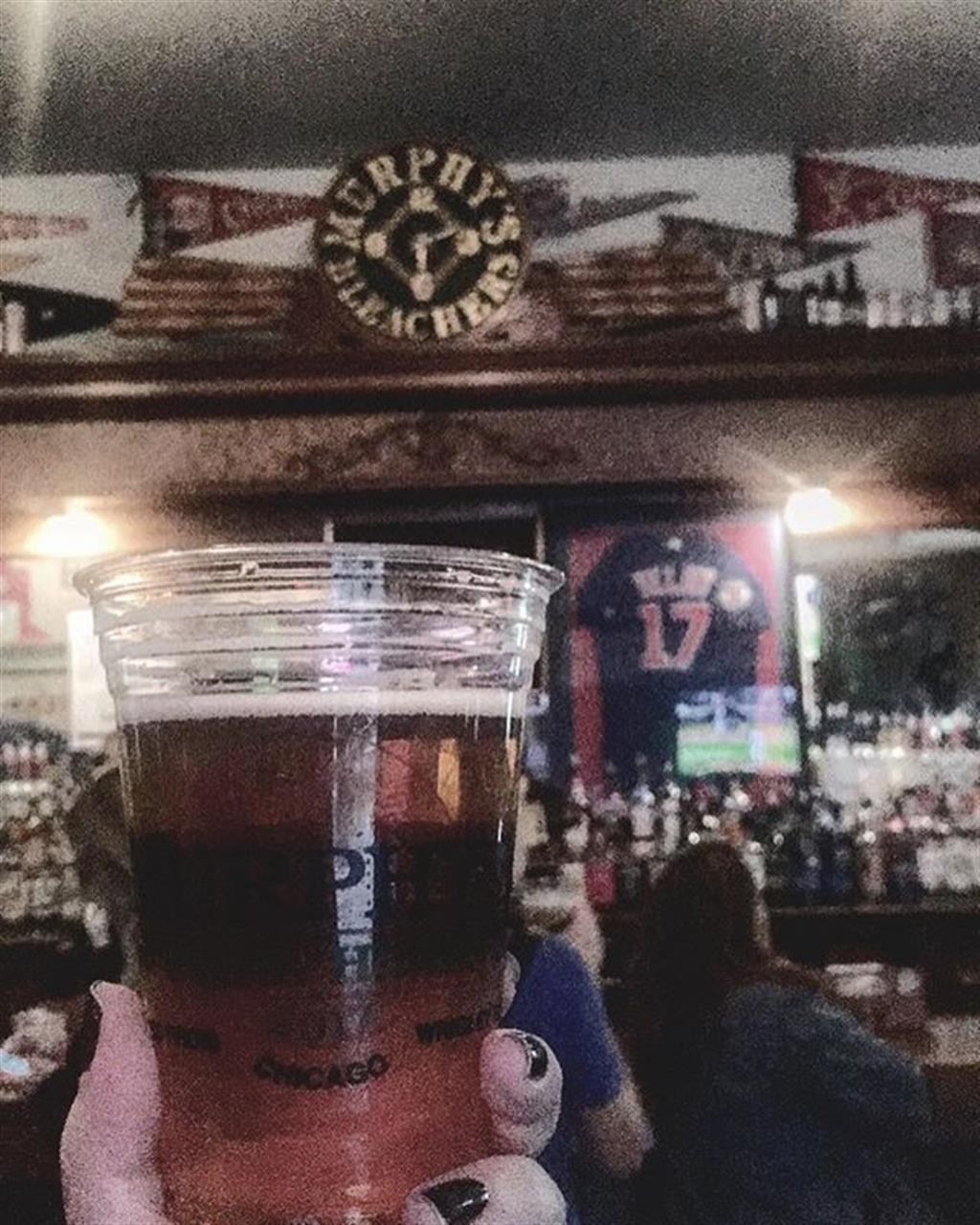 #tossback to @cubs playoffs and a cold one at @murphysbleachers #chicago #lakeview #wrigleyville #leadingrelocal #neighborhoods #chicagocubs #chicagosports #bairdwarner