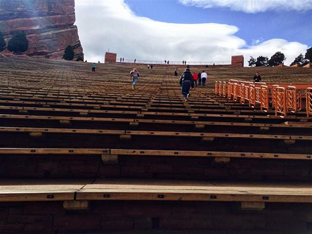 If you caught a cheap flight to Denver, Red Rocks Park is worth the venture. Breathtaking views and fun events all rolled into one. #denver #morrison #chicagodestination #directflights #leadingrelocal #bairdandwarner