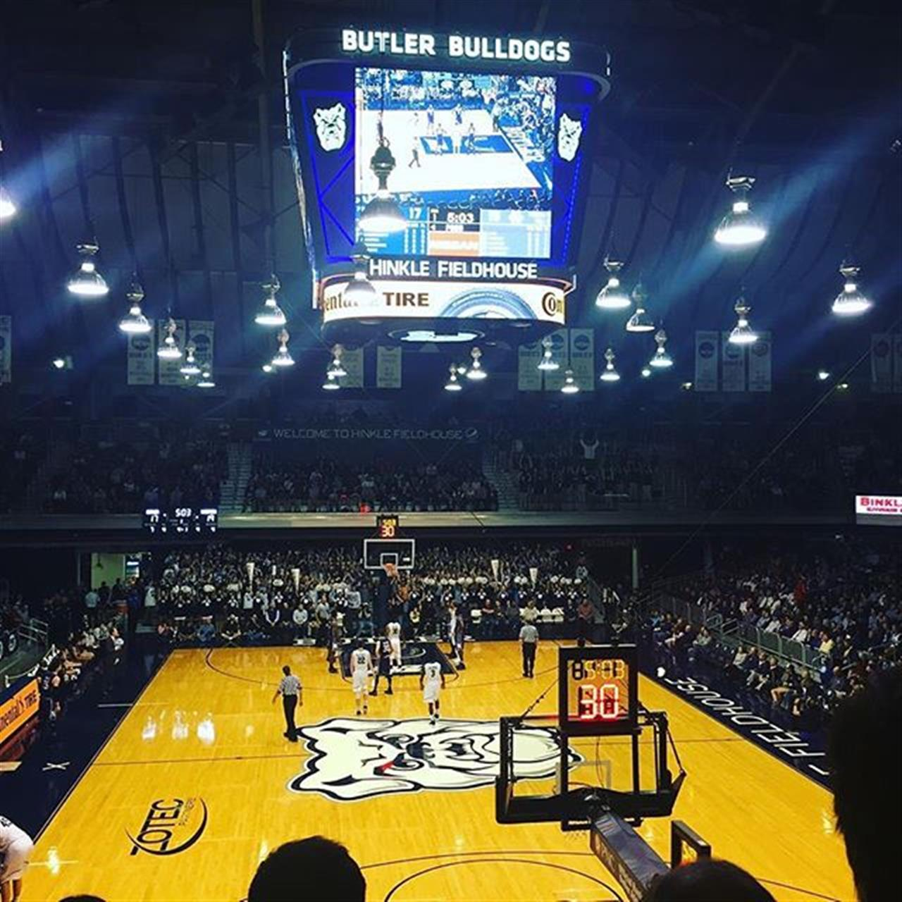 The heart and soul of classic Indiana Basketball. #hinklefieldhouse #indianabasketball #indiana #butler #ncaa #roadtrip #leadingrelocal #bairdwarner #chicago #realestate #explore #midwest
