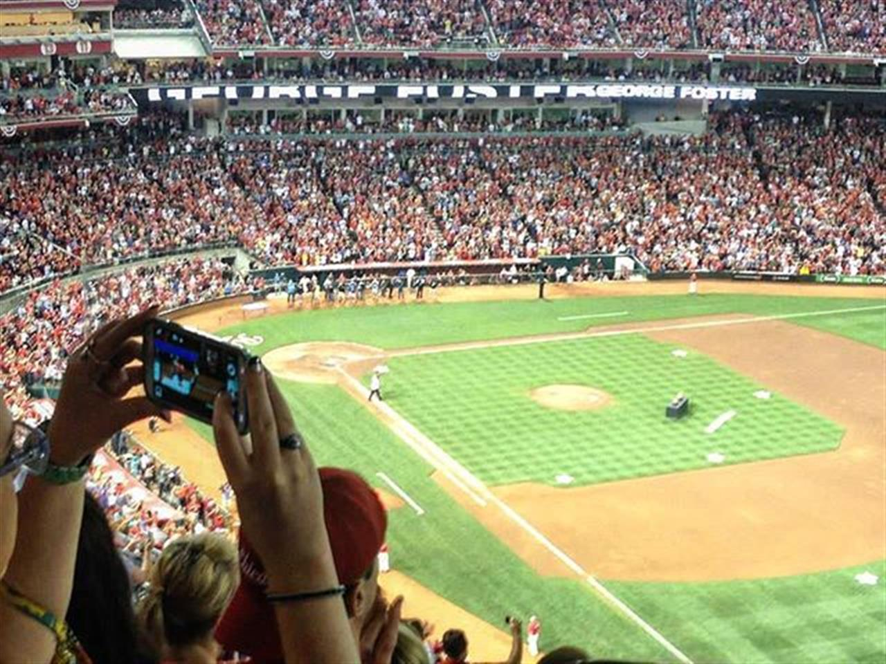 Play ball! View from the upper deck @great_american_ballpark #cincinatti #baseball #cincinnatireds #leadingrelocal #chicago #realestate #bairdandwarner #roadtrip