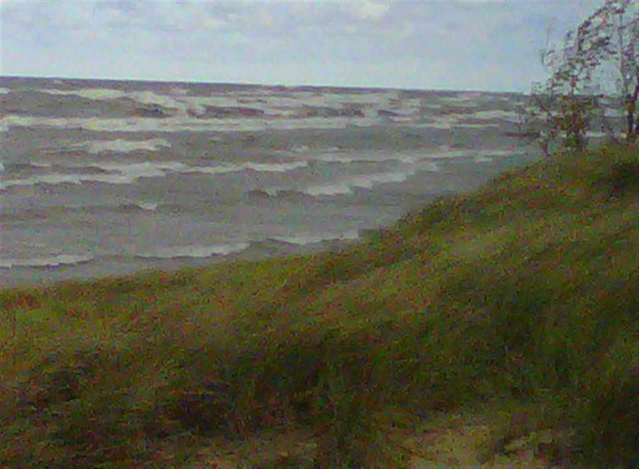 Windy day at the beach. #LeadingRELocal #BairdWarner #SouthHaven
